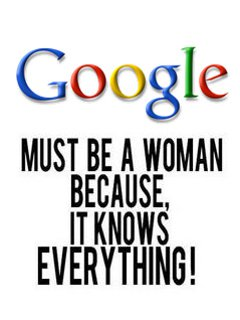 funny thing about google