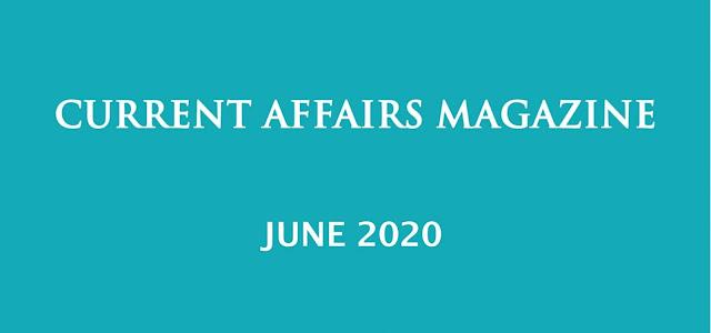 Current Affairs June 2020 iasparliament