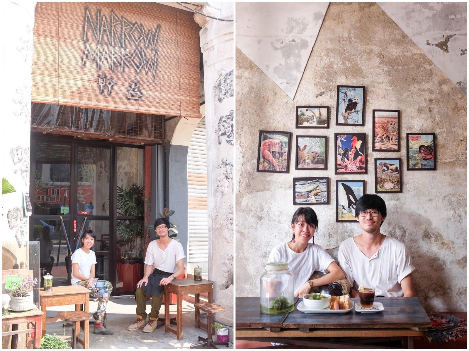 Eat Drink KL: Narrow Marrow & Jawi House @ George Town, Penang