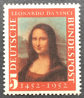 West Germany Leonardo da Vinci Mona Lisa