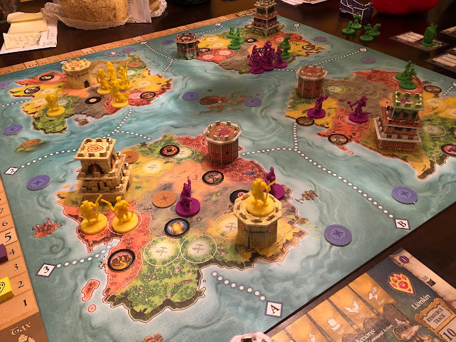 Heroes of Land, Air & Sea Gamelyn Games Order and Chaos Expansion Gameplay 01; Photo by Benjamin Kocher 2020