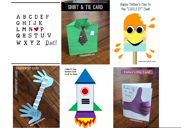 Fathers Day Card Ideas for Kids to Make