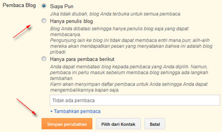 pembaca blog