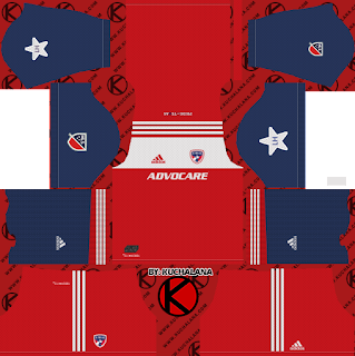 FC Dallas 2018 -  Dream League Soccer Kits