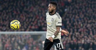 96 touches, 83% pass accuracy... Fred's stats vs Liverpool are amazing
