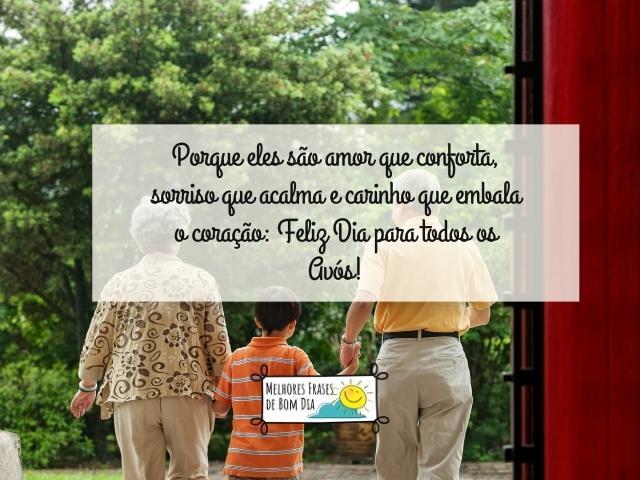 Mensagens para o Dia dos Avós