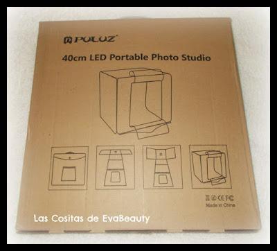 caja de luz fotografias Puluz Amazon