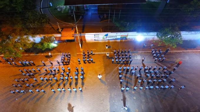Aula da Saudade, culto, cerimônia militar e baile marcam formatura de alunos do CPM de Augustinópolis.