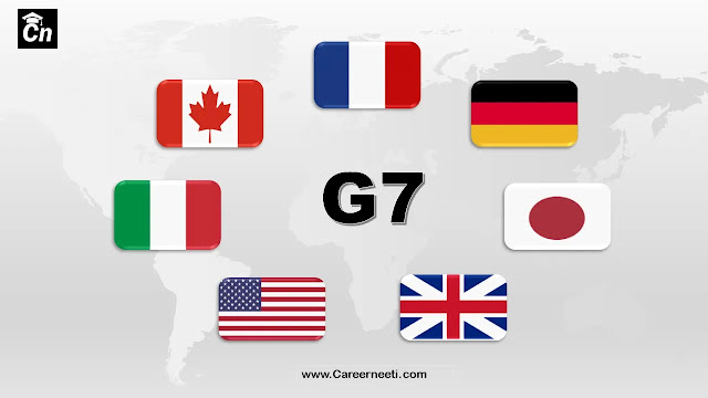 Group of Seven Countries- G7 Countries, www.careerneeti.com, Careerneeti Logo