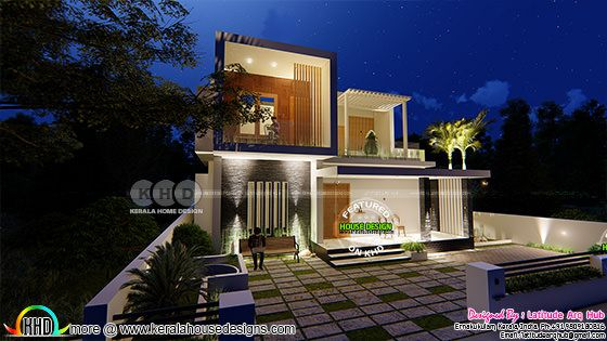 International home design in contemporary style