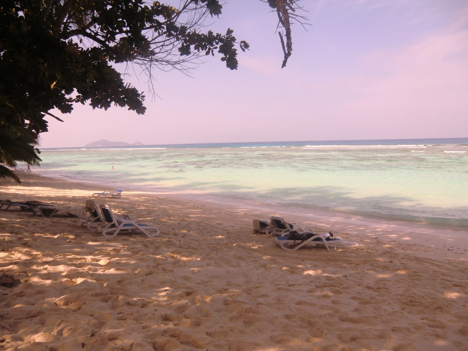 Пляж-на-Сейшелах