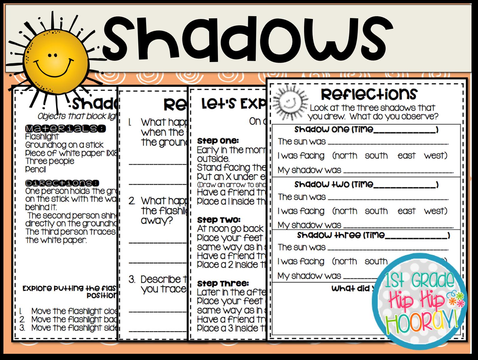 First Grade Sun Worksheets