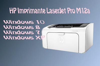 HP Imprimante LaserJet Pro M12a
