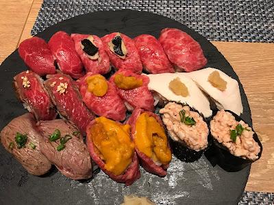 Niku Kappo, niku sushi