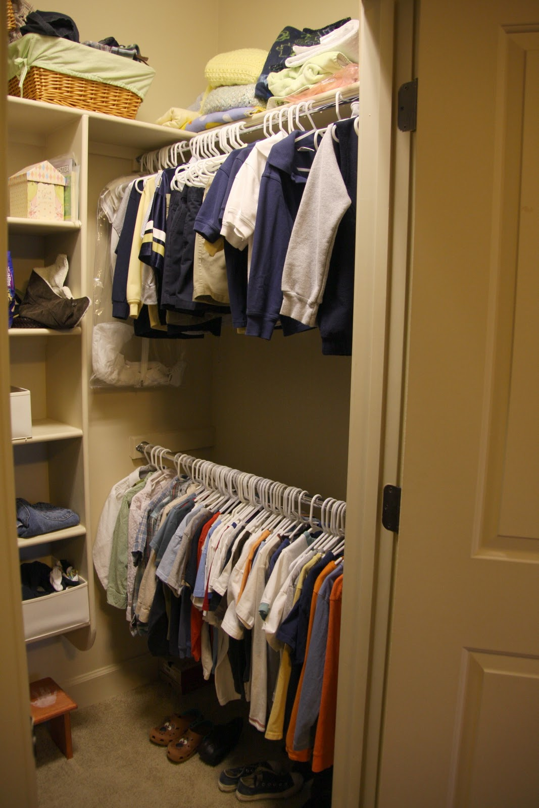 Project Winterize The Boys Closets Simply Organized