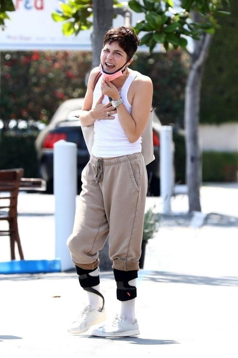 Selma Blair Clicked Outside  in Los Angeles  Jun -2020