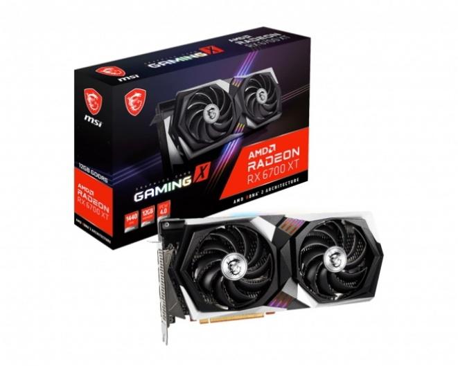 MSI Radeon RX 6700 XT Gamng X