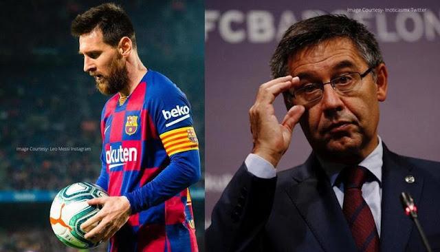 Messi Tinggalkan Barcelona?