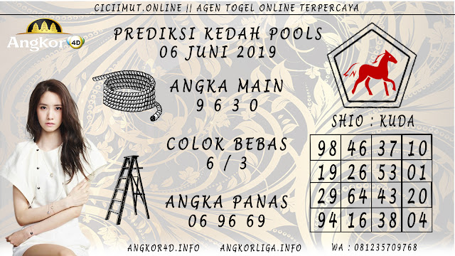 PREDIKSI KEDAH POOLS 06 JUNI 2019