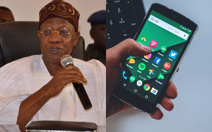 """We are pushing ahead with our plan to sanitize the social media"" Lai Mohammed Says"