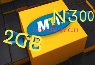 Official: How to Get Mtn 2GB For N300 instead of N500