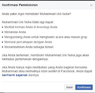 Cara Memblokir Akun Facebook Orang Lain Via Pc