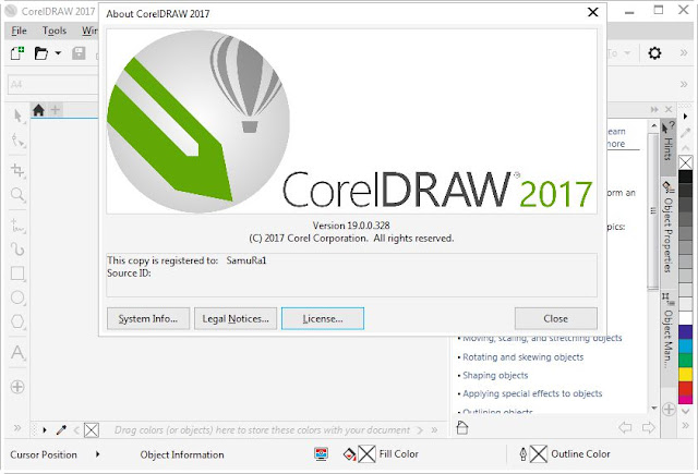 CorelDRAW Graphics Suite X9