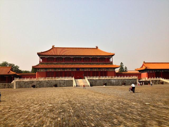 Palacio Prohibido, Pekín, China.