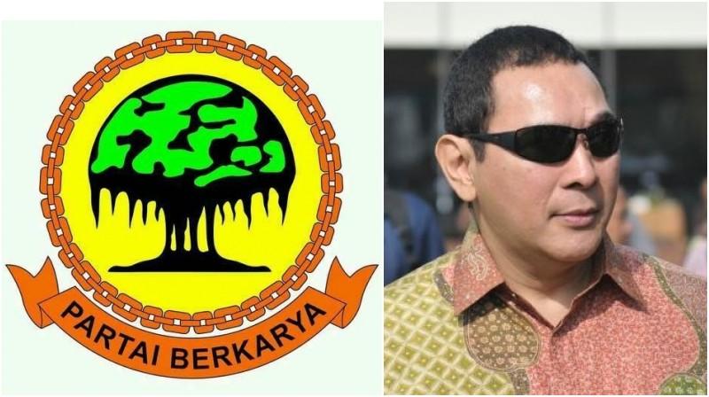 Partai Berkarya yang didirikan Tommy Soeharto