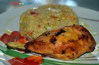 Κοτόπουλο Ψητό με Κινόα - by https://syntages-faghtwn.blogspot.gr
