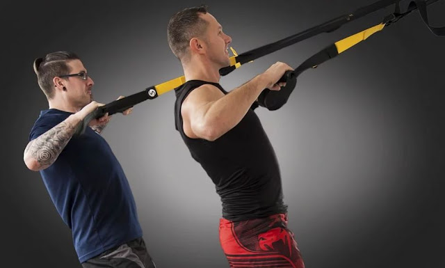 compact workout equipment home gym trx suspension trainer