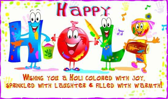 holi greeting cards images