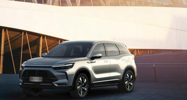 BEIJING X7 - SUV cỡ trung mới của BAIC vừa được ra mắt