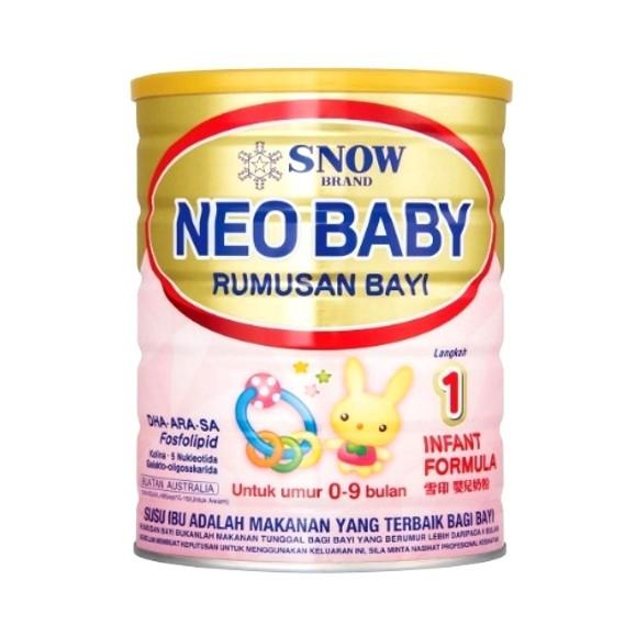 Susu untuk bayi sembelit snow step 1