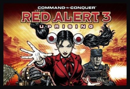 Command And Conquer Red Alert 3 Uprising Full Crack Cover Logo by http://jembersantri.blogspot.com