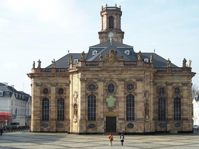 ザールブリュッケン ルートヴィヒ教会