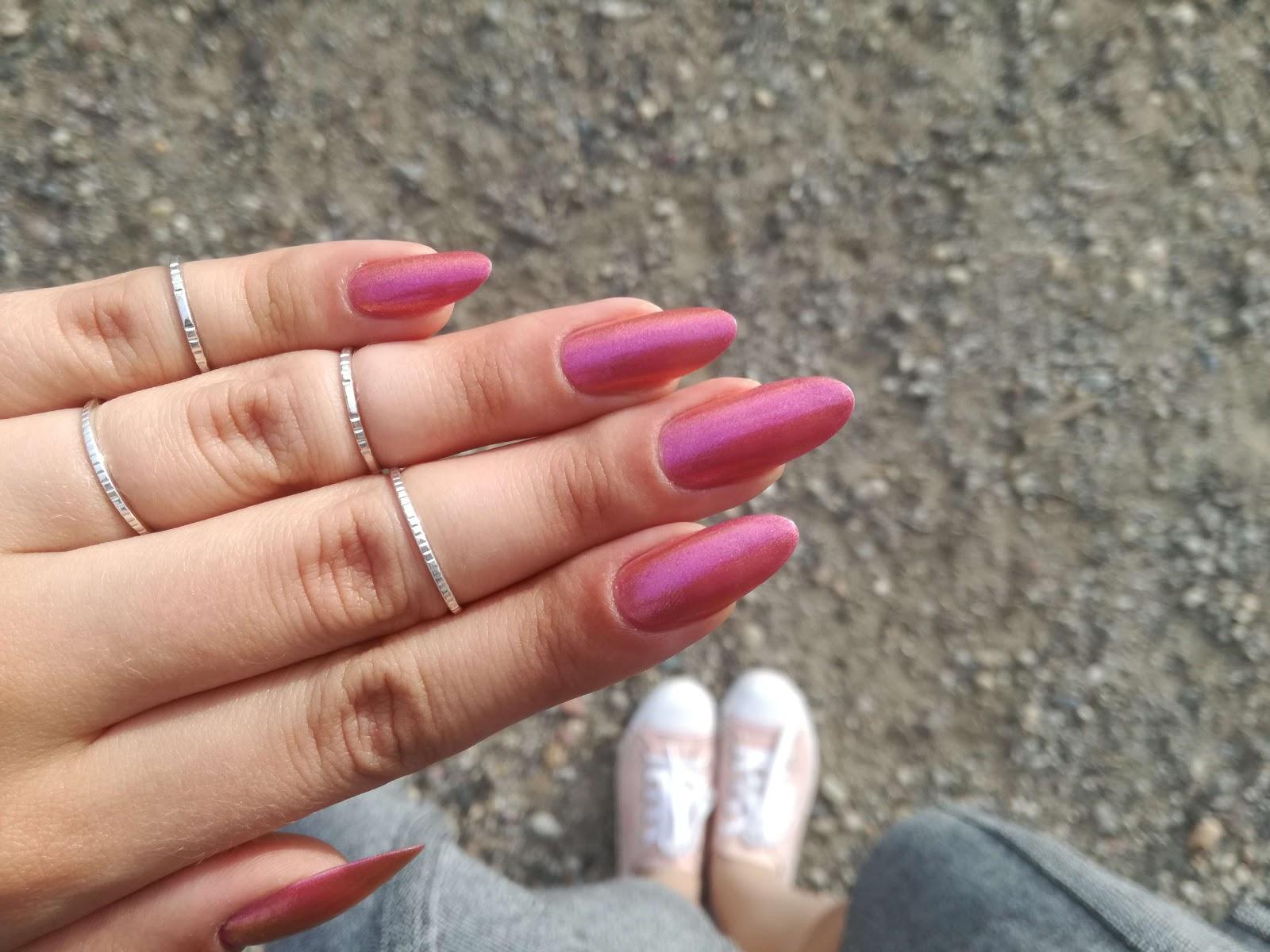 stylowe paznokcie
