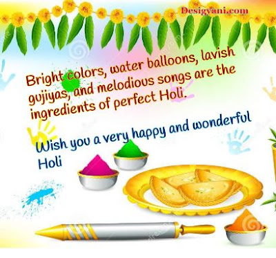 Bright color, water ballons, Happy Holi