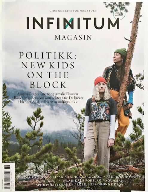 Infinitum magasinet vinter 2019 med mange gode artikler om bærekraft, klimapsykologi osv.