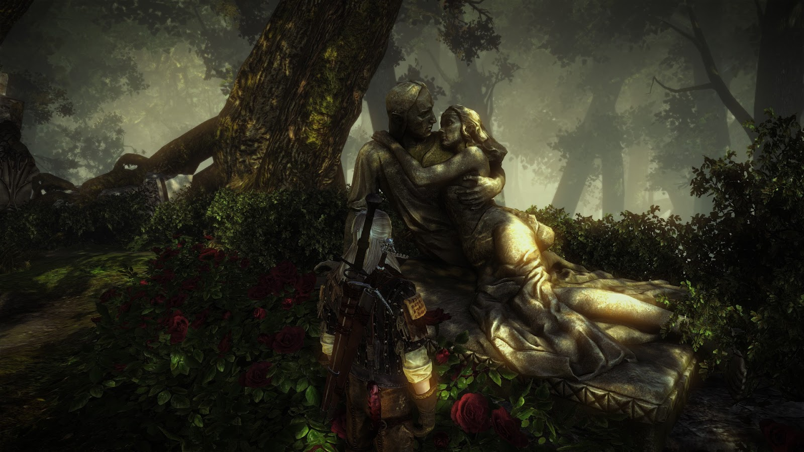 Anime Witch Girl Wallpaper The Nocturnal Rambler The Witcher 2 Screenshots