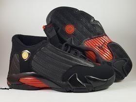 Sepatu Basket Jordan 14 Black, toko sepatu basket, jual sepatu basket , harga basket jordan , jordan 14 , jordan XIV retro