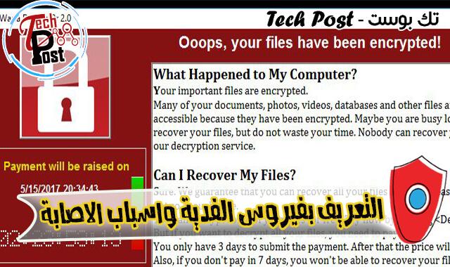 فيروس الفدية الخبيث Ransomware وأسباب الإصابة