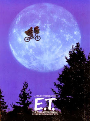 Poster Of E.T. the Extra-Terrestrial (1982) In Hindi English Dual Audio 300MB Compressed Small Size Pc Movie Free Download Only At worldfree4u.com