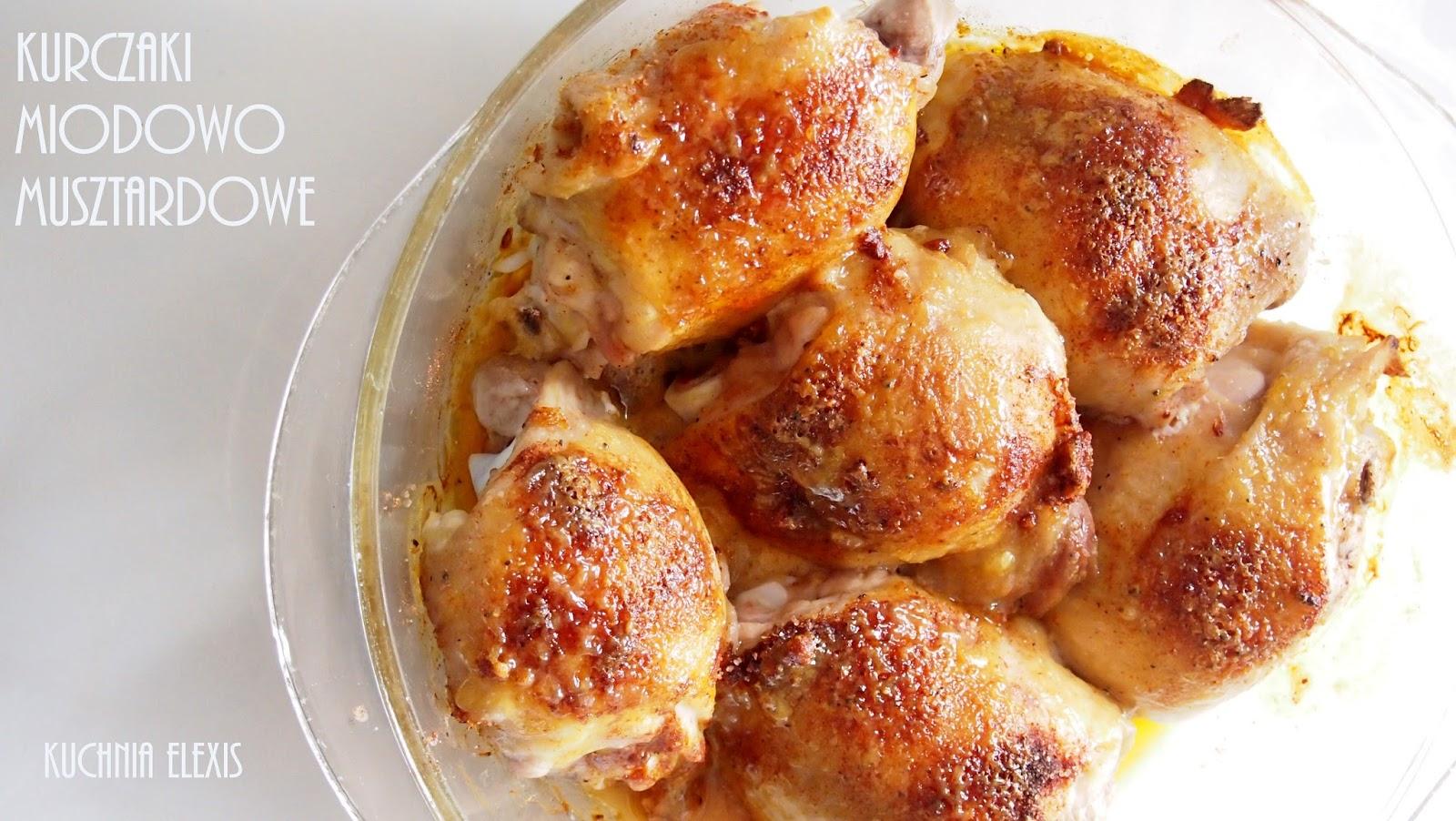 Przepis Na Soczyste Udka Z Kurczaka W Glazurze Miodowo Musztardowej