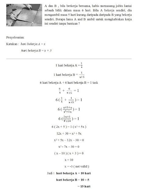 Soalan Matematik Spm Dulu Dan Kini 2017