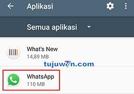 Cara mengatasi kamera whatsapp ngezoom