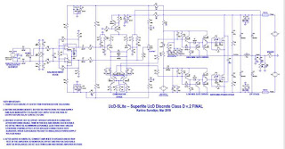 Power Amplifier Class-D UcD SuperLite v2 Final Schematic