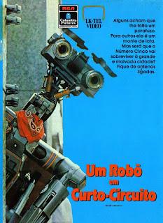 Um Robô em Curto Circuito Dublado Online