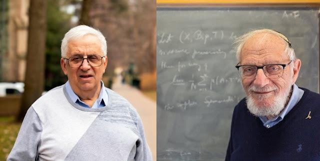 جائزة نوبل في الرياضيات يتقاسمها اثنان من رواد الاحتمالات والديناميات