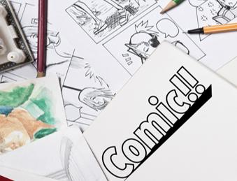Menggambar Komik | Konsep, Sejarah, Unsur, Jenis, Media, Langkah-Langkah